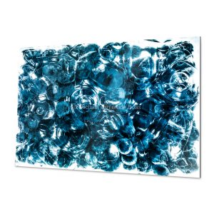 Blue Fine Art Print for home and workspace decorations