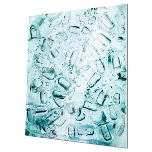 IceCubeFantasy #1 Fine Art Print for home and workspace decorations