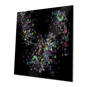 theKiss Fine Art Print for home and workspace decorations